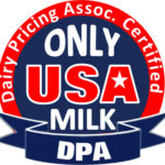 ONLY USA MILK seal